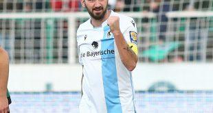 Sascha Mölders führt 1860 München mit Tor zum Sieg