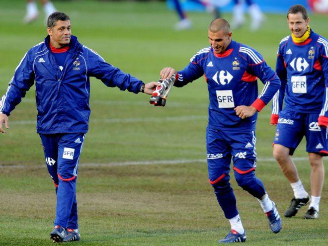 Bruno Martini (links) ist am Dienstag verstorben