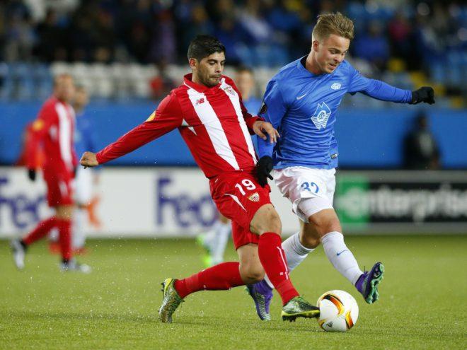 Sander Svendsen (r.) wechselte in allerletzter Sekunde