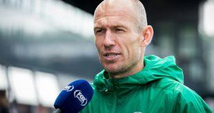 Gut gelaunt nach Comeback: Arjen Robben
