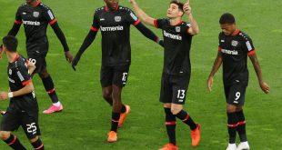 Bayer Leverkusen gewinnt das Heimspiel gegen Augsburg