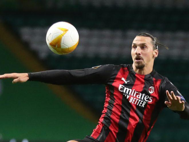 Doppelpack gegen die Roma: Zlatan Ibrahimovic
