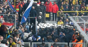 Verfassungsschutzpräsident Kramer warnt vor Hooligans