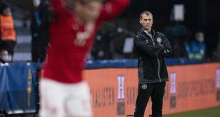 Ebbe Sand vertrat Chefcoach Hjulmand gegen Schweden