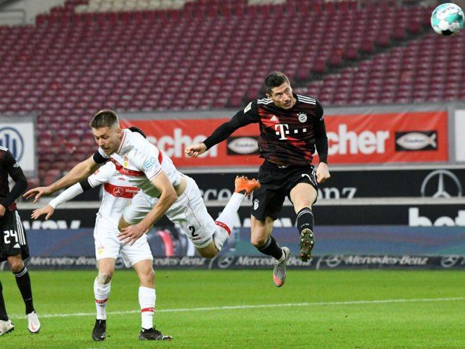 Lewandowski erzielt das 2:1 für die Münchener