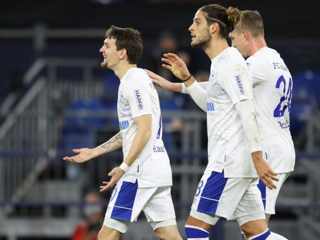 Schalke: Oczipka (r.) und Paciencia (2. v. l.) fehlen