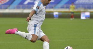 Uruguays Torjäger Luis Suarez