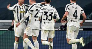 Ronaldo (l.) erzielt gegen Cagliari einen Doppelpack