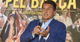 Joan Laporta stellt sich  zur Wahl