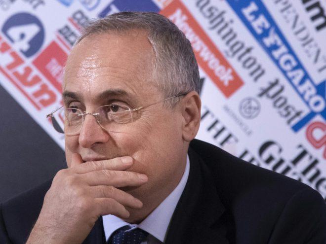 Claudio Lotito wurde zu Manipulationsverdacht befragt