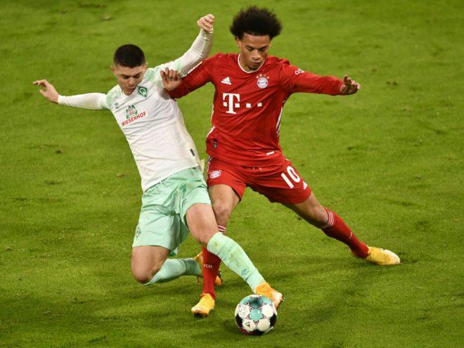 Bayern nur Unentschieden gegen Werder