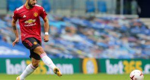 Manchesters Bruno Fernandes trifft gegen Everton doppelt