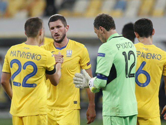Die Ukraine steigt durch UEFA-Urteil aus der Liga A ab