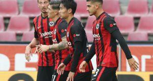 Remis: Eintracht Frankfurt holt einen 0:2-Rückstand auf
