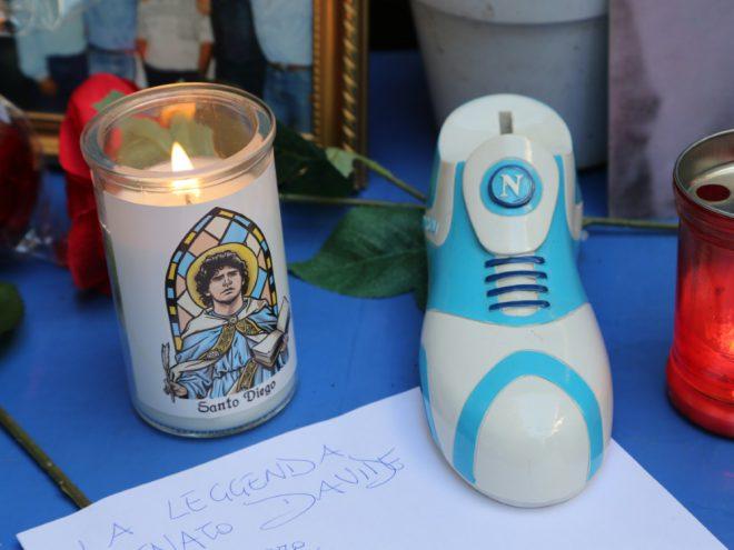 Emotionale Maradona-Tribute in Neapel