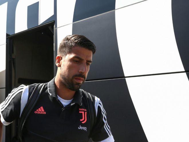 Sami Khedira spielt seit 2015 für Juventus