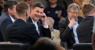 Bis zu 890.000 Zuschauer sahen den Fußball-Talk