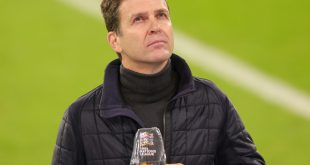 Bierhoff fürchtet schwindendes Interesse von Fußballfans
