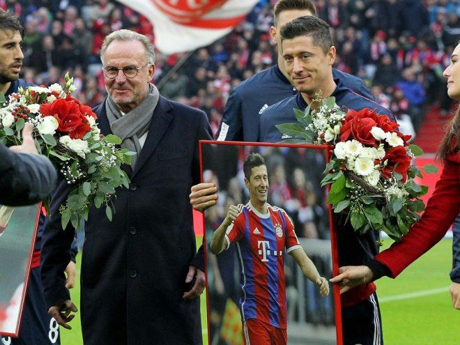 Tuttosport ehrt Lewandowski und Rummenigge
