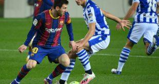 Barcelona besiegt Real Sociedad