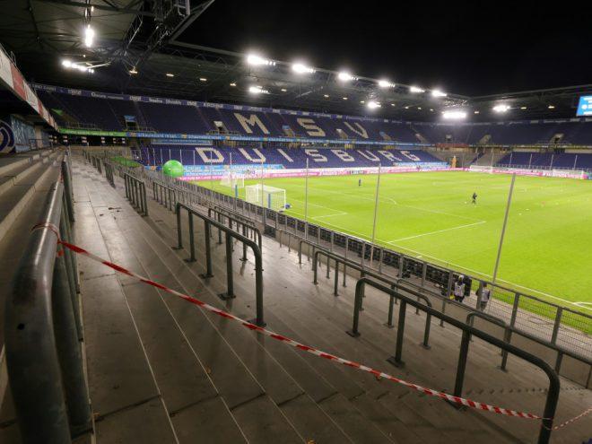 Bis Saisonende keine Fans in der 3. Liga
