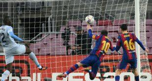 Lionel Messi stellt mit seinem Treffer Peles Rekord ein