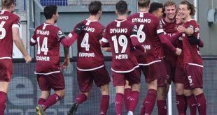 Dresden übernimmt die Tabellenführung in der 3. Liga