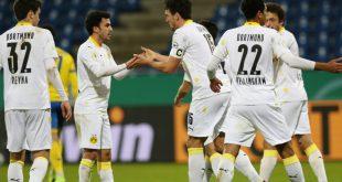 Glanzlos im Achtelfinale: Borussia Dortmund