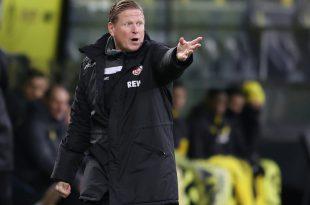 Markus Gisdol will auf den Sieg gegen den BVB aufbauen