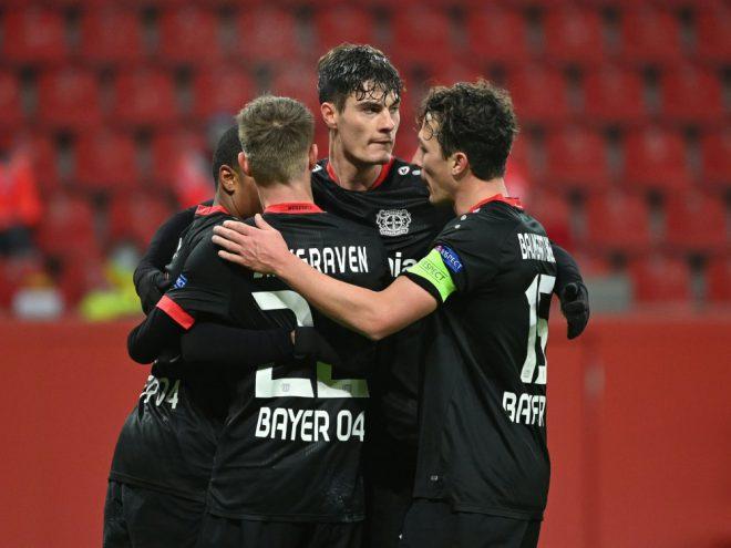 Leverkusen wird Gruppensieger
