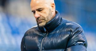 Gewann mit Leverkusen bei Nizza: Peter Bosz