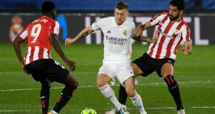 Kroos (M.) traf zur Führung gegen Bilbao