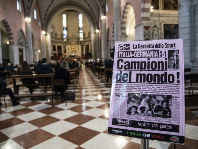 Am Samstag fand die Trauerfeier für Rossi statt
