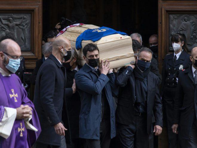 Trauerzeremonie für den Weltmeister von 1982 Paolo Rossi