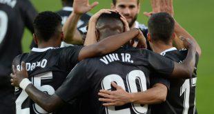 Real Madrid bejubelt Sieg gegen den FC Sevilla