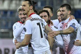 Ibrahimovic trifft bei Milans 2:0-Auswärtssieg doppelt