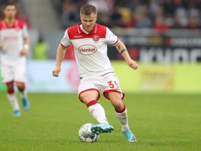 Spielte zuletzt bei Fortuna Düsseldorf: Jean Zimmer
