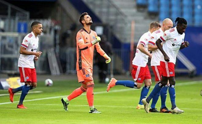 Hamburg: Unentschieden gegen Düsseldorf