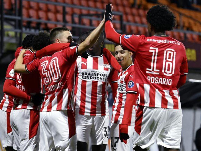 Ohne Götze gewinnt Eindhoven gegen den RKC Waalwijk