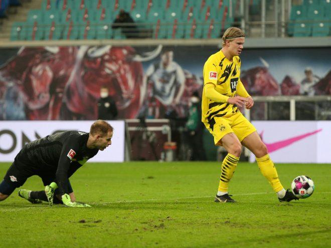 Dortmunds Torjäger Erling Haaland