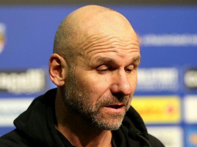 Trainer Bernhard Trares verpasste mit Würzburg den Sieg