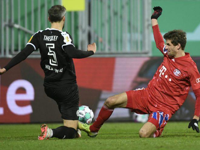 Das DFB-Pokalspiel hat der ARD eine TV-Topquote beschert