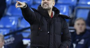 Pep Guardiola führt mit City die Premier League an