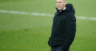 Real Madrids Trainer Zinedine Zidane ist in Quarantäne