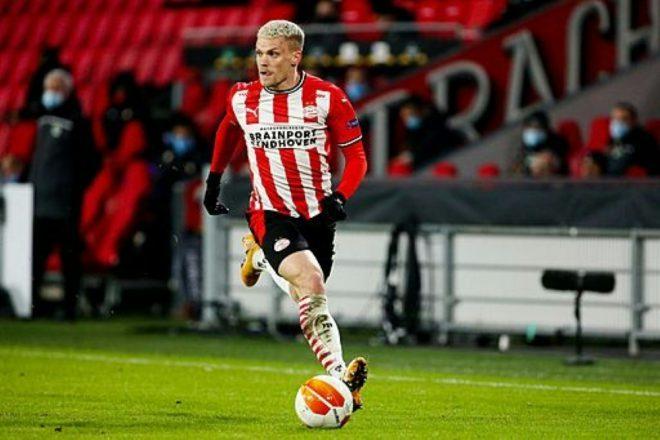 Eindhoven verliert trotz Tor von Philipp Max