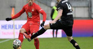 Marvin Pourie (l.) trifft für Kaiserslautern