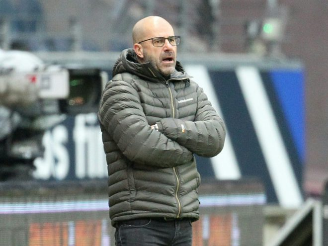 Nicht zufrieden mit seiner Mannschaft: Peter Bosz