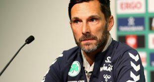 Stefan Leitl verpasst mit Fürth die Tabellenspitze