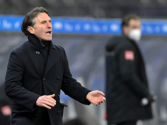 Hertha-Trainer Labbadia droht das Aus