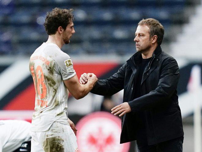 Leon Goretzka steht gegen Lazio in der Startelf